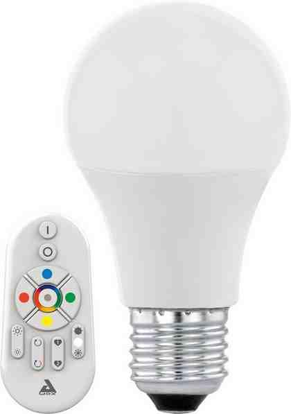 EGLO »Eglo CONNECT« LED-Leuchtmittel, E27, Warmweiß, Neutralweiß, Farbwechsler, Tageslichtweiß, CCT-Lichtsteuerung