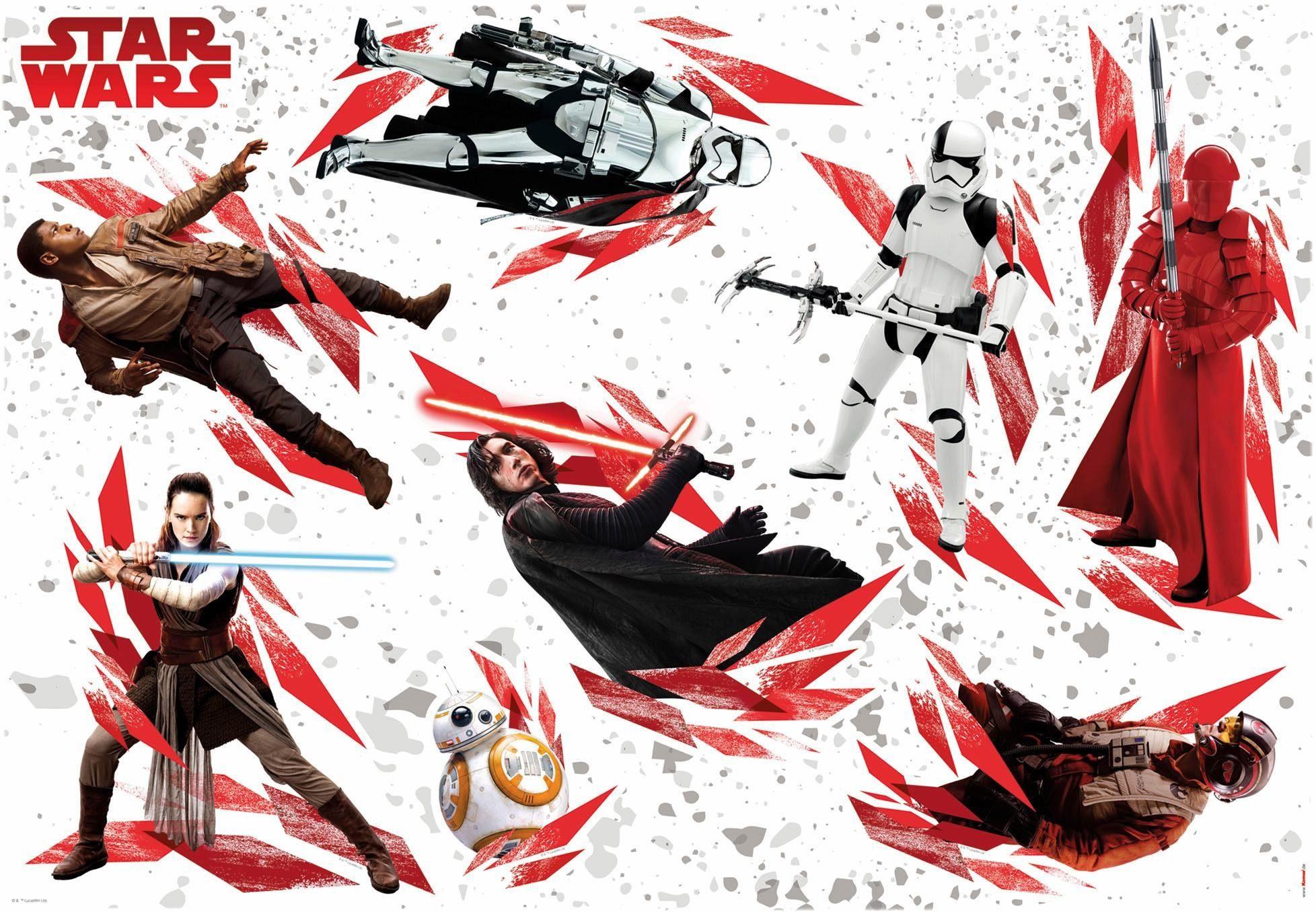 Komar Deco-Sticker »Disney Star Wars The Last Jedi« 100/70 cm