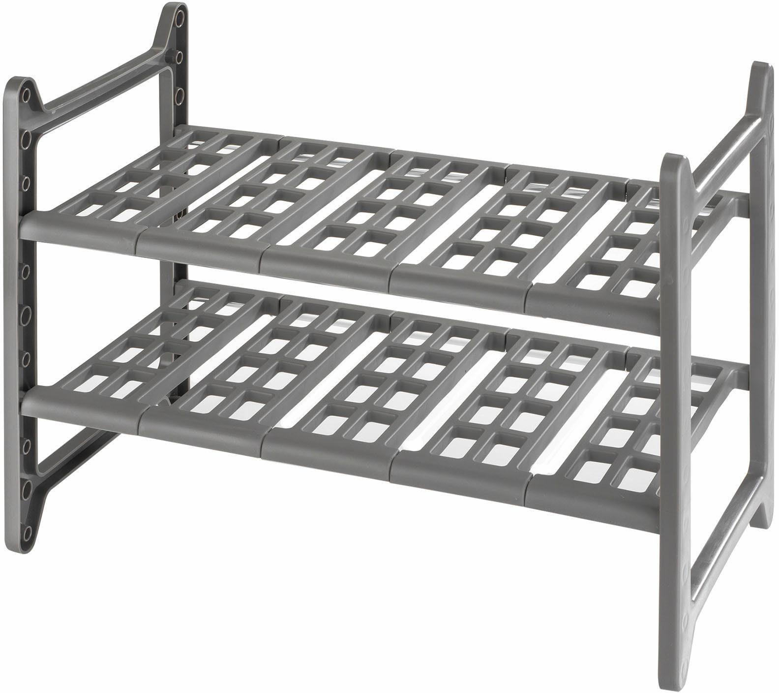 WENKO Küchen-Unterschrankregal Flexi, 45 - 80 cm