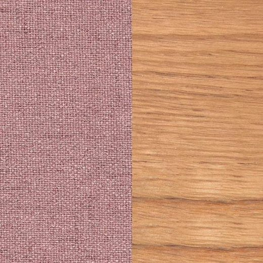 Home affaire 4-Fußstuhl »Nevada« mit Strukturstoff- Bezug in 3 Farben