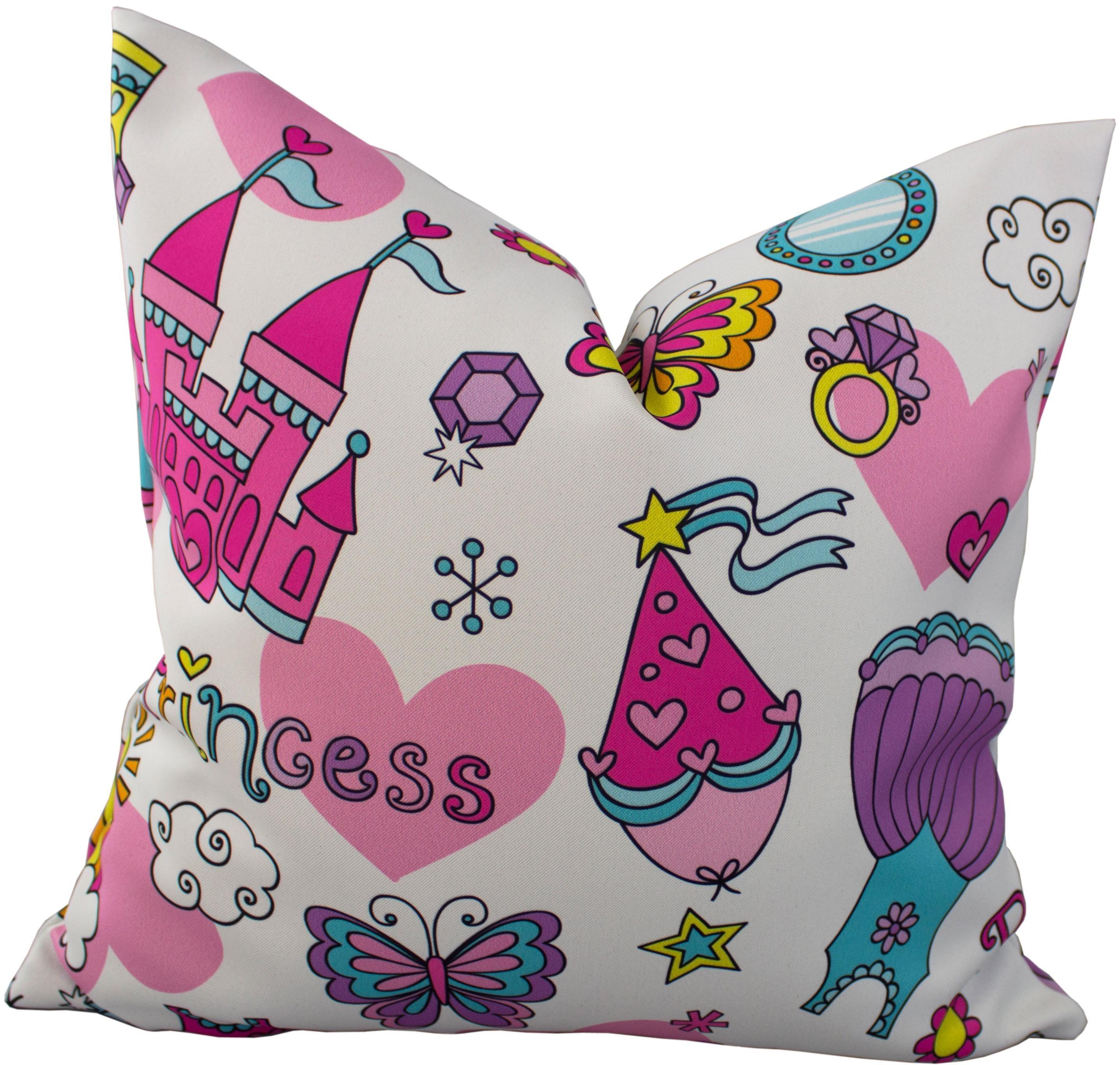 Kissenhüllen »Prinzessin Sanni«,