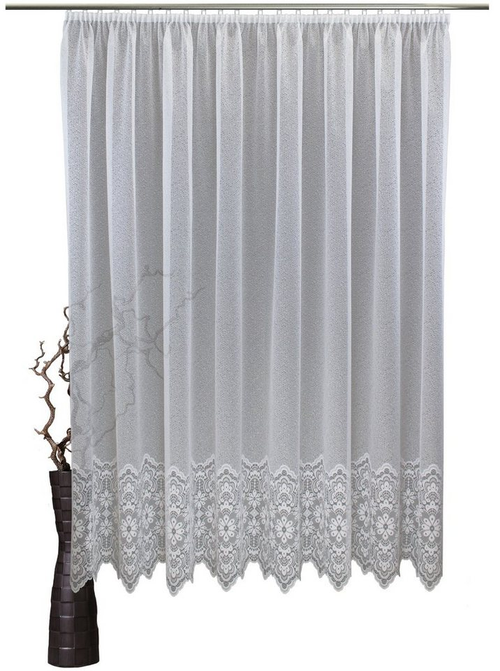 gardine vhg konstanz mit kr uselband nach ma online kaufen otto. Black Bedroom Furniture Sets. Home Design Ideas