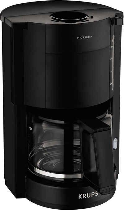Krups Filterkaffeemaschine F30908 Pro Aroma, 1,25L Füllmenge, 1050 Watt