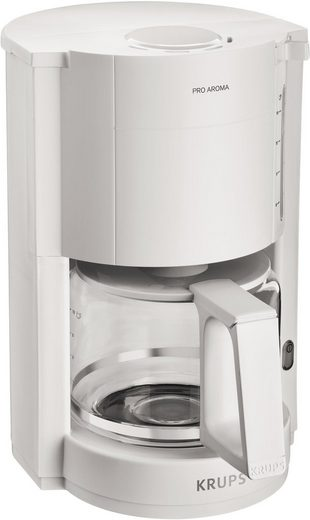Krups Filterkaffeemaschine F30901 Pro Aroma, Warmhaltefunktion, Automatische Abschaltung, 1050 W