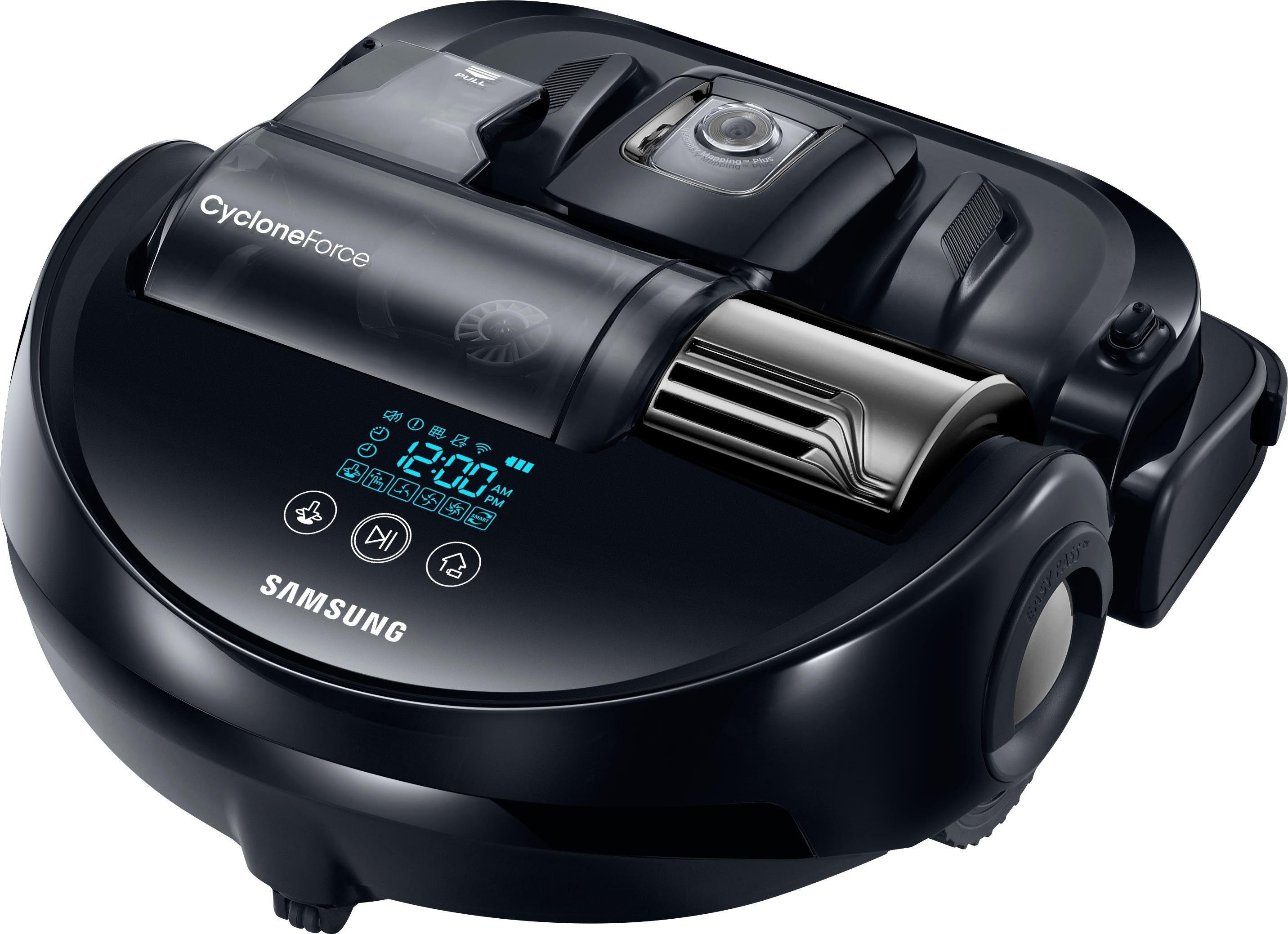 Samsung Saugroboter VR20J9259UC/EG/ POWERbot VR9200, 180 Watt, beutellos, Saugstarker Motor mit Cyclone Force