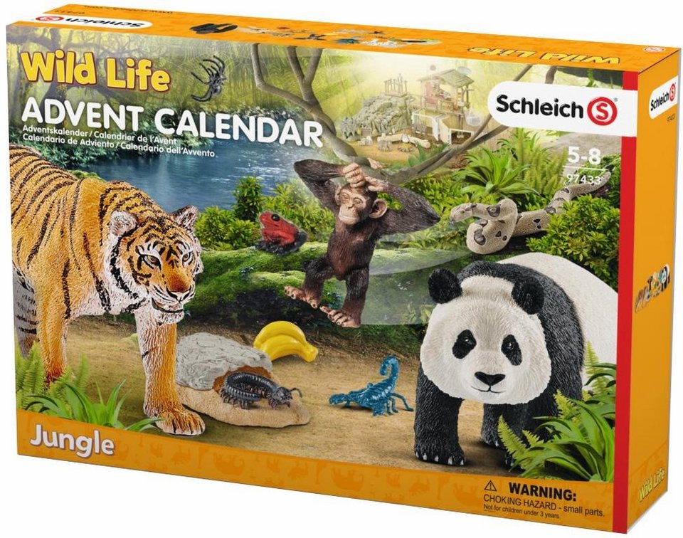 schleich adventskalender 97433 wild life 2017 online kaufen otto. Black Bedroom Furniture Sets. Home Design Ideas