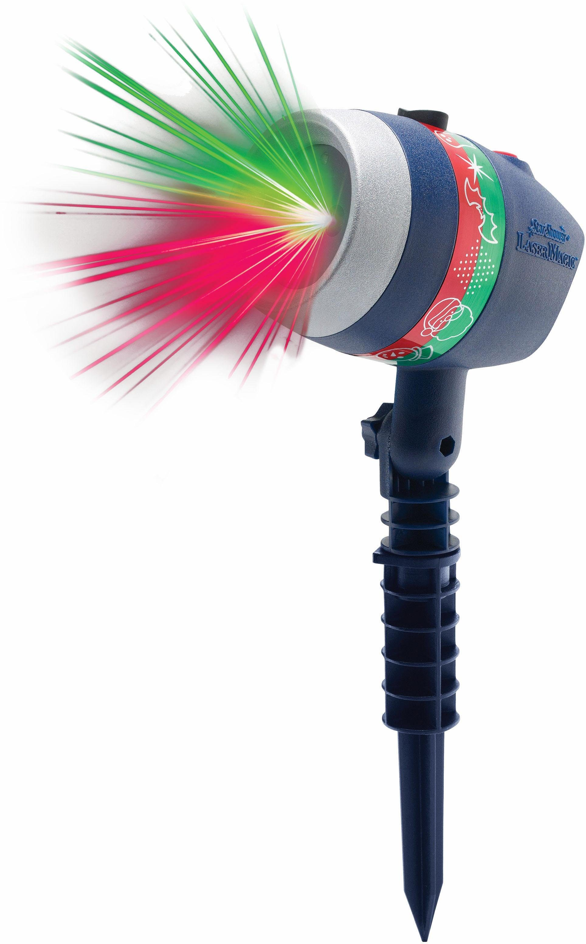 MediaShop Motivstrahler »Star Shower Laser Magic«