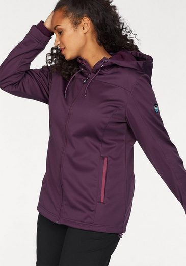 Polarino Softshelljacke, innen mit Fleece