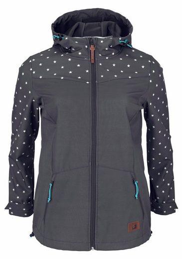 Ocean Sportswear Softshelljacke, Sternenmuster