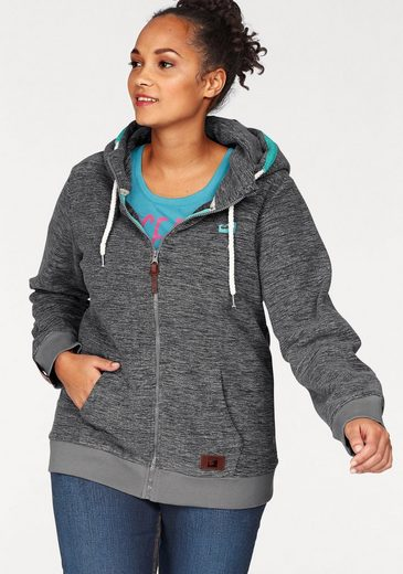 Ocean Sportswear Fleece Jacket With Kangaroo Pocket