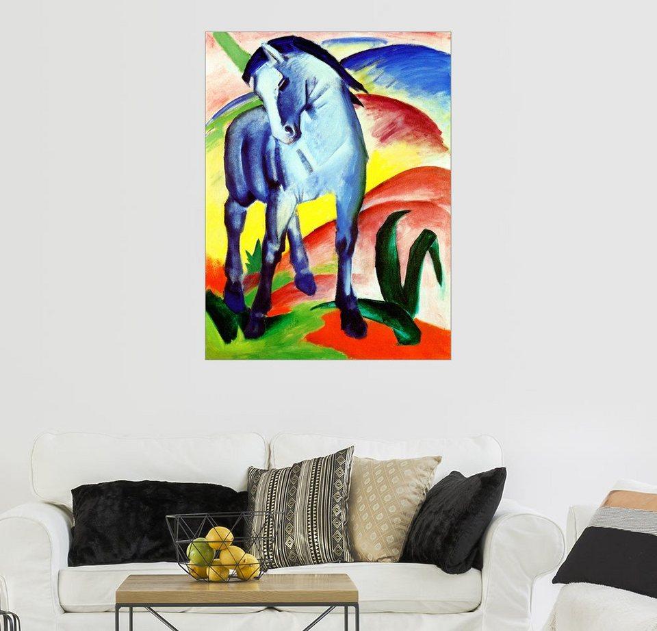 Posterlounge Wandbild Franz Marc Blaues Pferd I Online Kaufen Otto