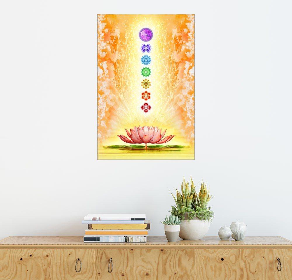 Posterlounge Wandbild - Dirk Czarnota »Sacred Lotus« | Dekoration > Bilder und Rahmen > Bilder | Holz | Posterlounge
