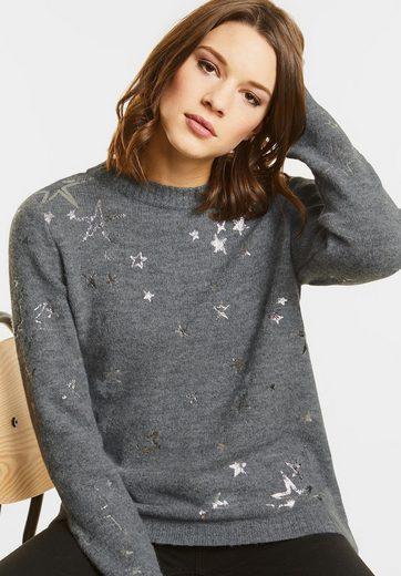 Street One Kuscheliger Sternen Pullover