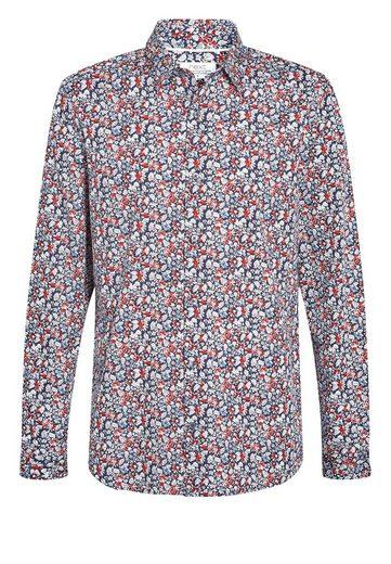 Next Langarmhemd mit elegantem Print