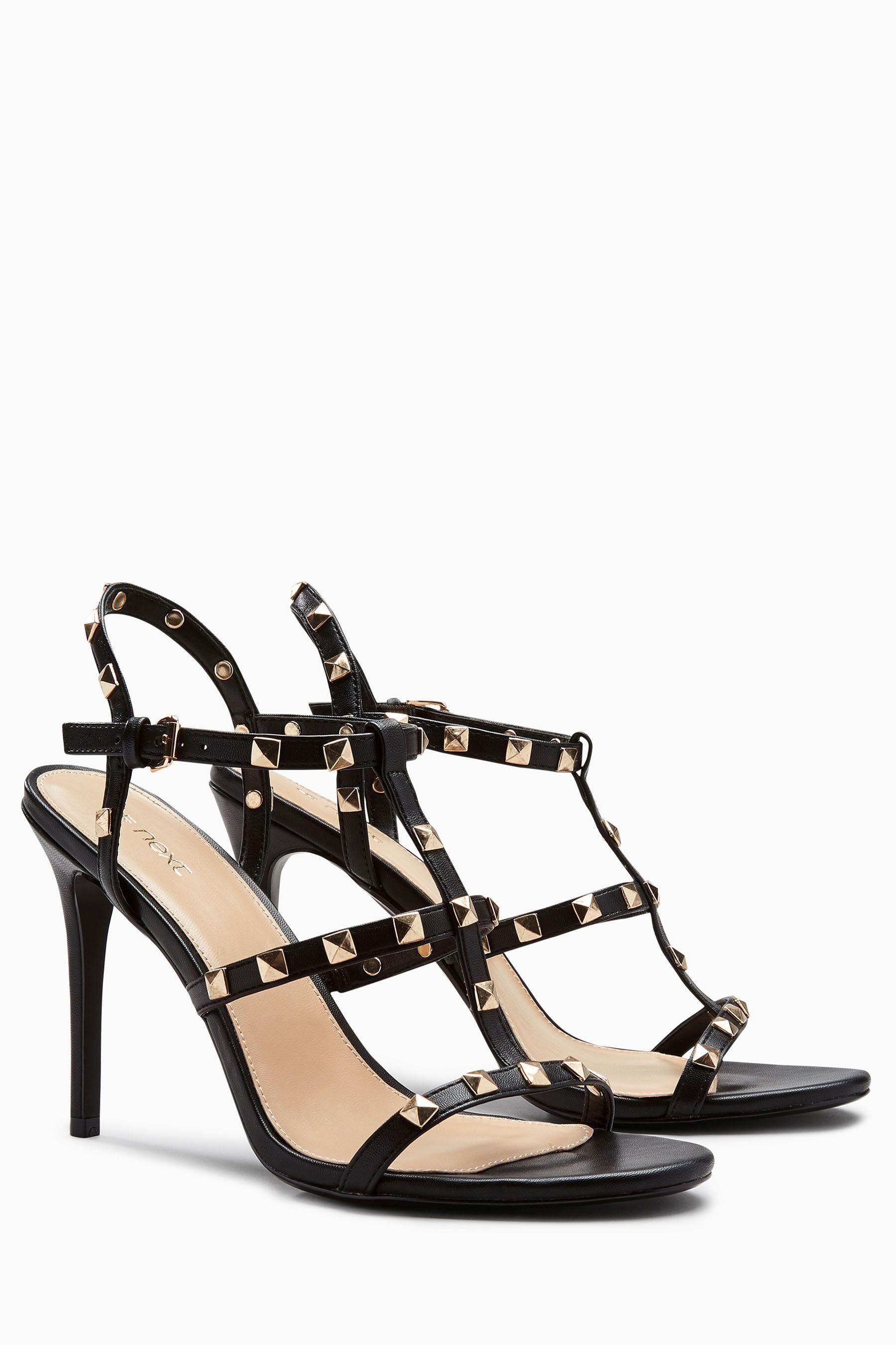 Next Sandale mit Nietenverzierung online kaufen  Black
