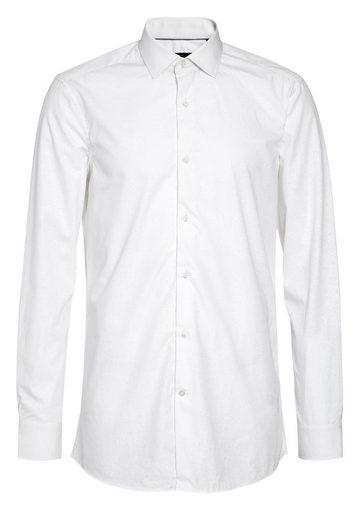 Next Slim-Fit Hemd aus ägyptischer Baumwolle mit Paisleymuster