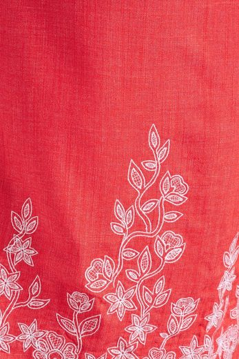 Next Embroidered Dress In Linen Mixture