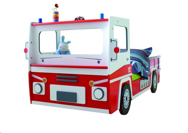 HTI-Living Bett »Feuerwehrauto«