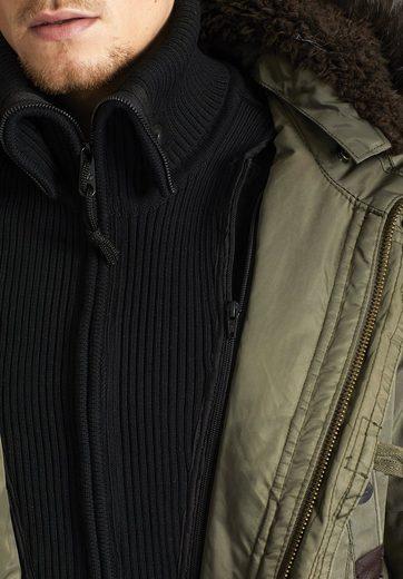 khujo Winterjacke CARTER WITH INNER JACKET, mit herausnehmbarem Strickeinsatz