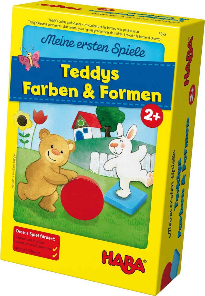 Haba Spiel, »Meine ersten Spiele - Teddys Farben und Formen«, Made in Germany