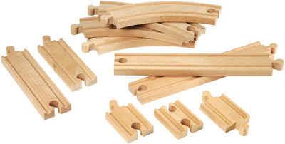BRIO® Gleise-Set »Brio WORLD Kleines Schienensortiment«, (Set), aus Holz, FSC®-Holz aus gewissenhaft bewirtschafteten Wäldern