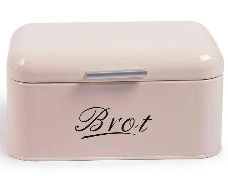 Zedelmaier Brotkasten »Brotkasten aus Metall, Brot Lange Aufbewahren, Retro Brot Box, Brotaufbewahrungsbox mit Deckel«