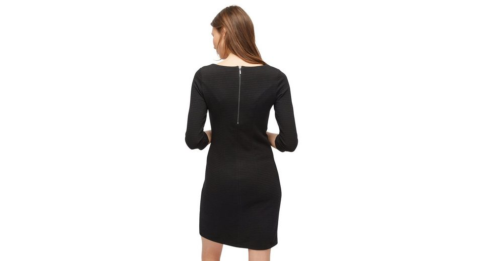 Billig Billig Günstig Kaufen Shop Tom Tailor A-Linien-Kleid mit Streifen-Struktur Billig Verkauf Sammlungen aeYQiZo