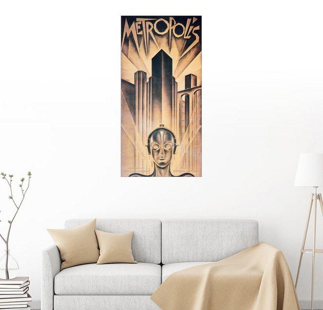 Posterlounge Wandbild Metropolis