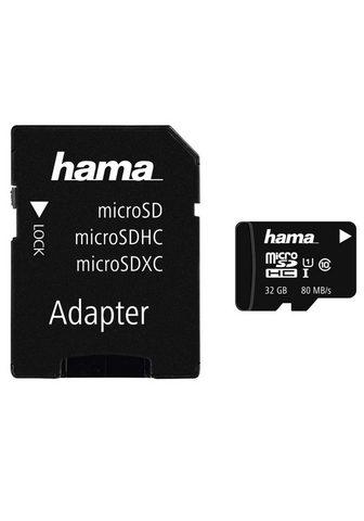 HAMA MicroSDHC 32 GB Class 10 UHS-I 80MB/s ...