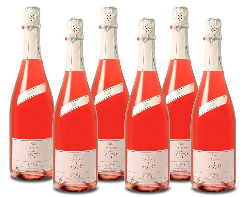 Roséwein aus Spanien, 11,5 Vol.-%, 4,5 l »NV Alsina & Sarda«