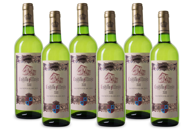 Weisswein aus Spanien, 12,0 Vol.-%, 4,5 l »2016 Castillo Alfonso«