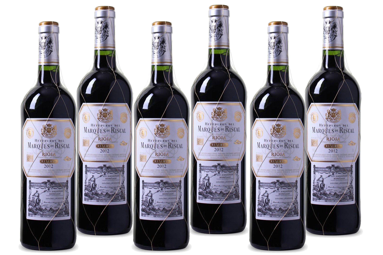 Rotwein aus Spanien, 14,0 Vol.-%, 4,5 l »2012 Herederos del Marqués de Riscal«