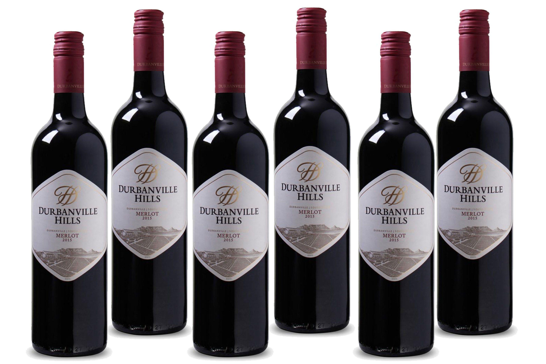 Rotwein aus Südafrika,4,5 l »2015 Durbanville Hills«