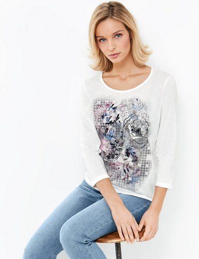 Gerry Weber T-shirt 3/4 Arm 3/4 Arm Shirt Mit Frontdruck