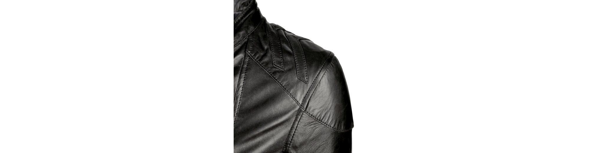 MAZE Lederjacke mit Bindegürtel Vermont Wirklich Online-Verkauf Top Qualität vb0YpBaMv