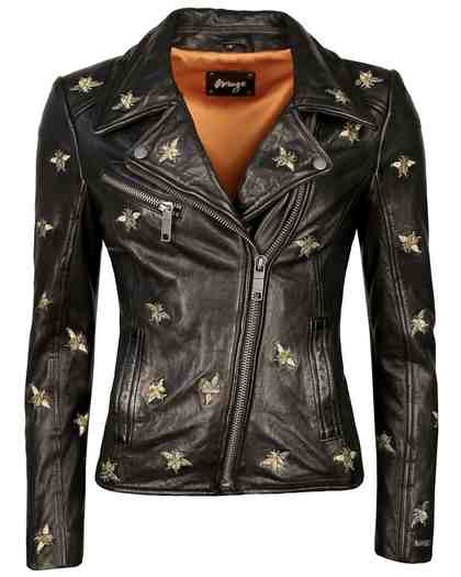 MAZE Eyecatcher Biker Jacke inklusive einiger Stickereien »Blackridge«
