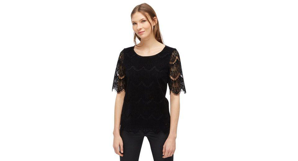 Günstig Kaufen Tom Tailor T-Shirt mit Details aus Spitze Freies Verschiffen Amazon Empfehlen Vorbestellung Günstig Online JYCf8F