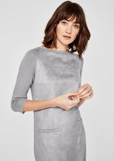 s.Oliver RED LABEL Kombistarkes Kleid im Fabric-Mix