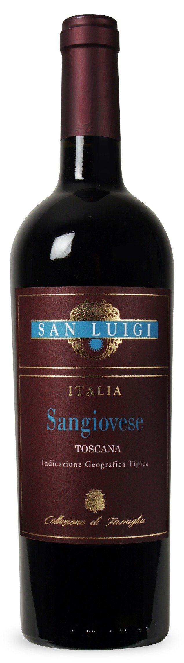 Rotwein aus Italien, 14,0 Vol.-%, 4,5 l »2015 San Luigi«
