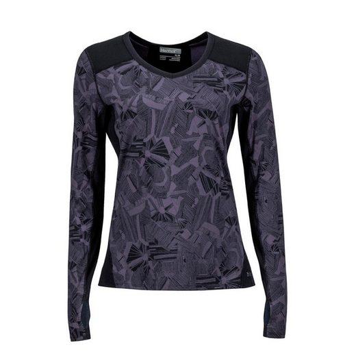 Marmot Shirt »Lana V Neck Crew Shirt Women«