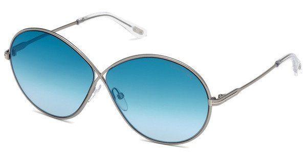 Tom Ford Damen Sonnenbrille » FT0563«, grau, 14X - grau/blau