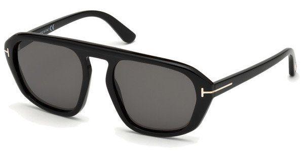 Tom Ford Herren Sonnenbrille » FT0634«, schwarz, 01A - schwarz/grau