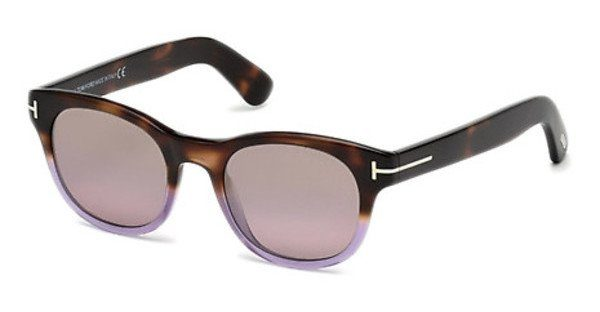 Tom Ford Sonnenbrille » FT0531«, braun, 52N - braun/grün