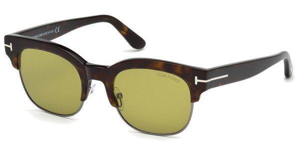 Tom Ford Sonnenbrille » FT0597«, braun, 52N - braun/grün