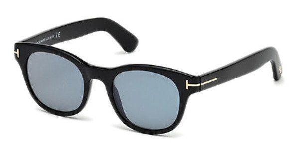 Tom Ford Herren Sonnenbrille » FT0590«, schwarz, 01V - schwarz/blau