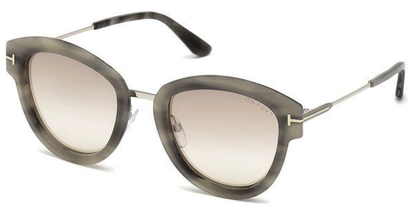 Tom Ford Damen Sonnenbrille » FT0574«, braun, 52P - braun/grün