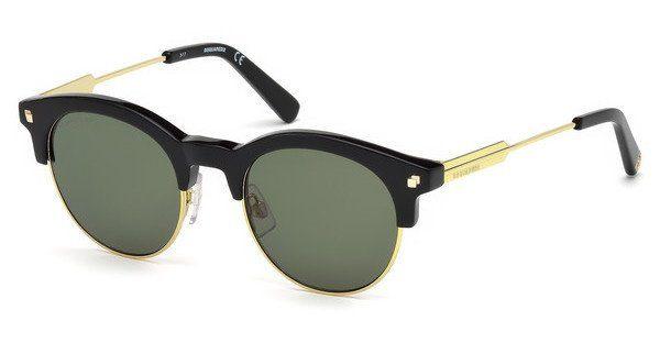 Dsquared2 Sonnenbrille » DQ0273«, schwarz, 01N - schwarz/grün