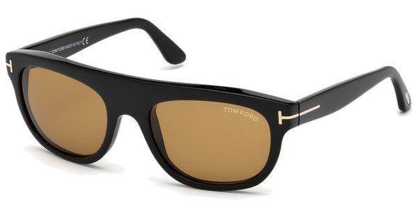 Tom Ford Herren Sonnenbrille » FT0594«, schwarz, 01E - schwarz/braun