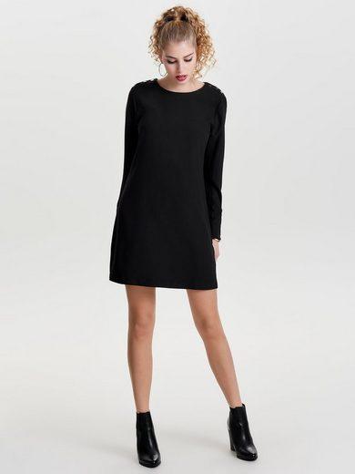 Only Kurze Kleid mit langen Ärmeln