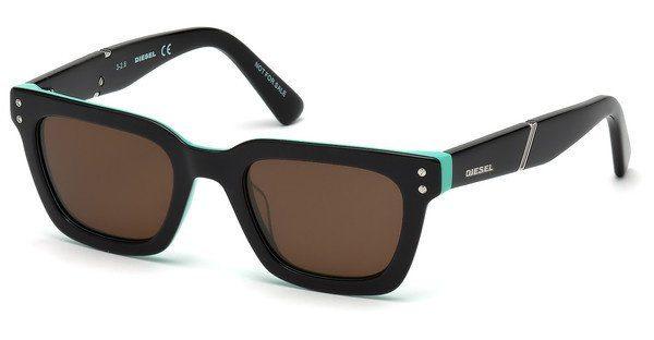 Diesel Kinderbrillen Sonnenbrille » DL0240«, schwarz, 05J - schwarz/braun